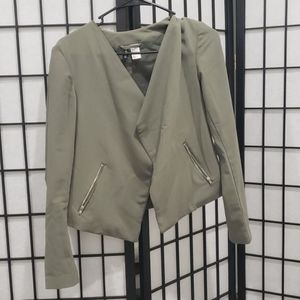 H&M Divided Army Green Blazer